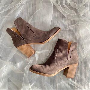 High Slide Slit Boots